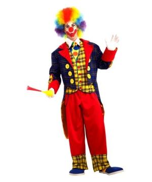 Mardi Gras Clown Men Costume