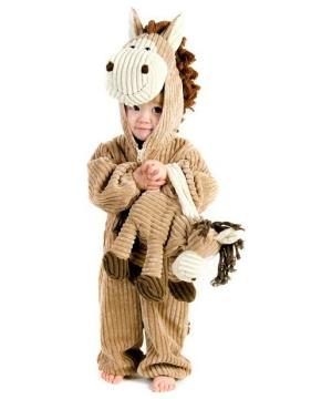 Corduroy Horse Baby Costume