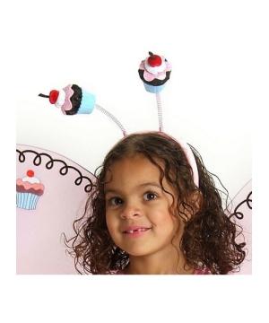 Cupcake Fairy Kids Headband