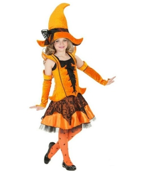 Delphina Witch Kids Costume