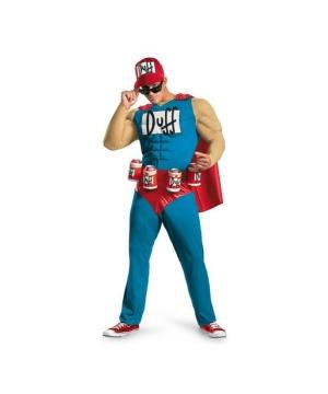 Duffman Costume Costume