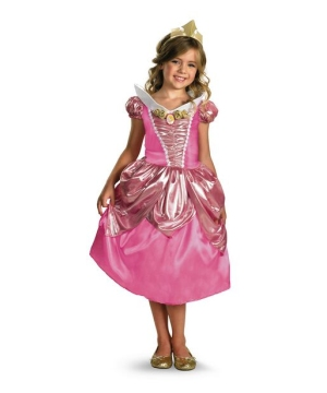 Girls Aurora Disney Costume
