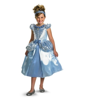 Cinderella Disney Girls Costume