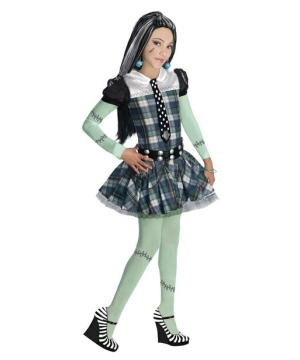 Girls Frankie Stein Costume