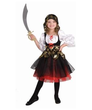 Girls Pirates Treasure Costume
