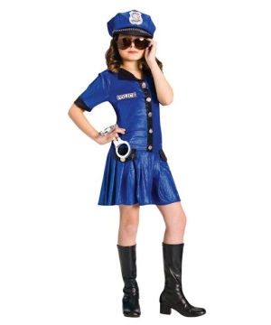 Girls Police Chief Costume