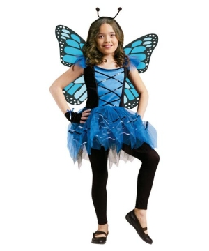 Girls Sweet Ballerina Butterfly Costume