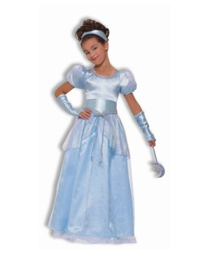Girls Sweet Cinderella Costume