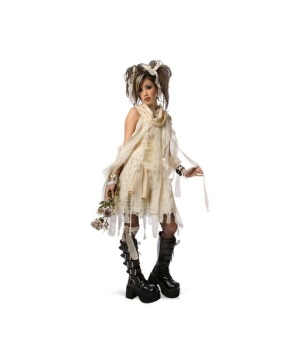 Gothic Mummy Girls Costume