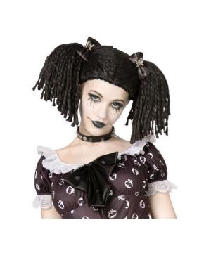 Gothic Rag Doll Wig