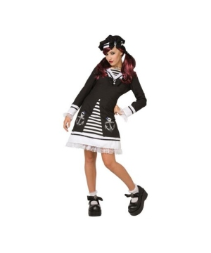 Gothic Sailor Womens Costume