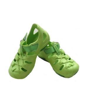 Green Clog Babykids Shoes