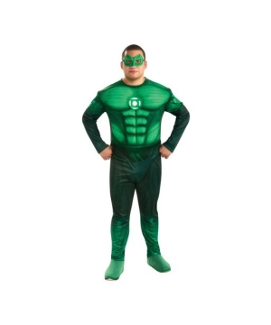 Green Lantern Adult plus size Costume deluxe