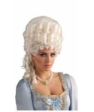 Marie Antoinette Adult Wig Costume Accessory