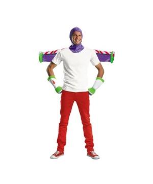 Mens Buzz Lightyear Costume Kit