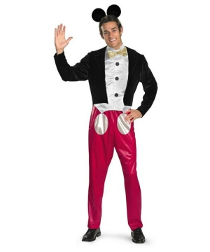 Mens Mickey Mouse Disney Costume