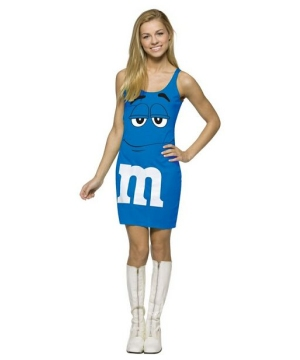 Mm Blue Tank Dress Costume