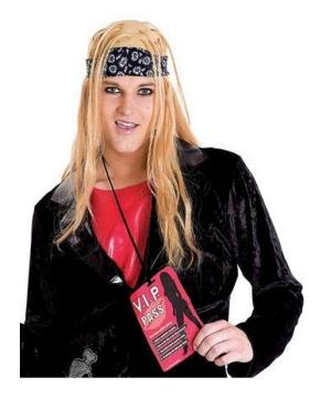 Rock Lover Wig