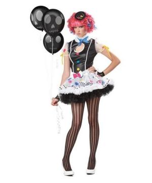 Sassie Clown Costume