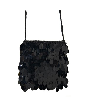 Sequined Flapper Handbag