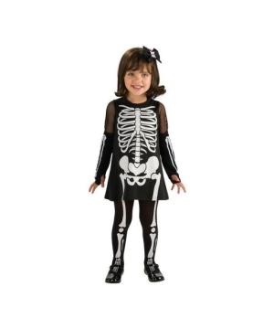 Skeleton Girl Baby Costume