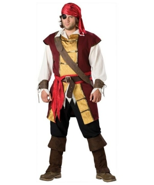 Swashbuckler plus size Pirate Costume