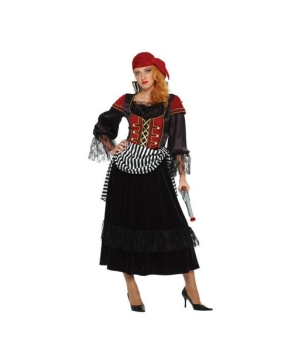 Treasure Pirate Wench Womens Costume
