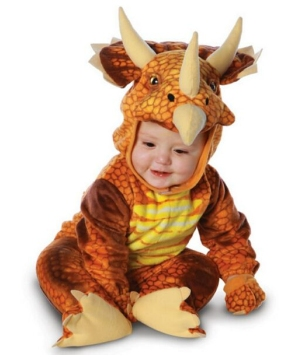 Triceratops Infantbaby Costume