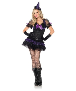 Womens Black Magic Witch Costume