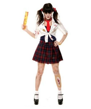 Womens Charm School Zombie Costume