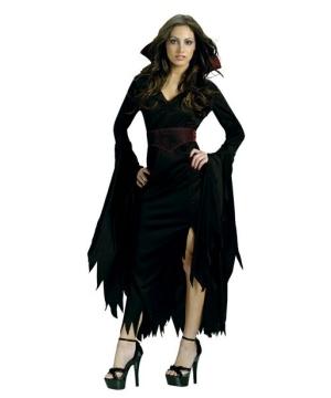 Womens Gothic Vamp Costume