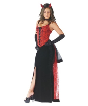 Womens Luscious Devil Costume