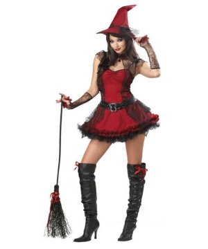 Womens Mischievous Witch Costume