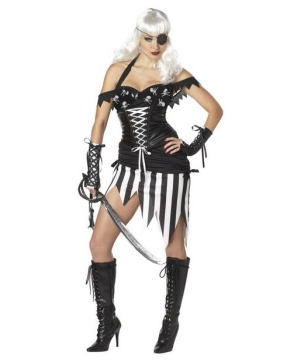 Womens Pirate Mistress Costume