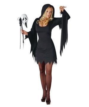Womens Scream Ghost Face Costume
