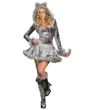 Sexy Wolf Women Costume