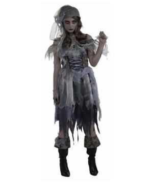Womens Zombie Pirate Costume