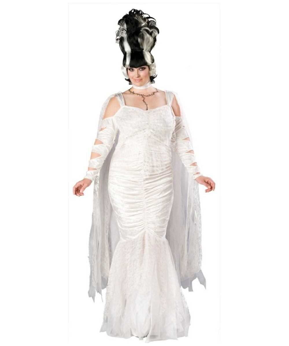 Frankenstein Bride Plus Size Costume - Women Frankenstein ...