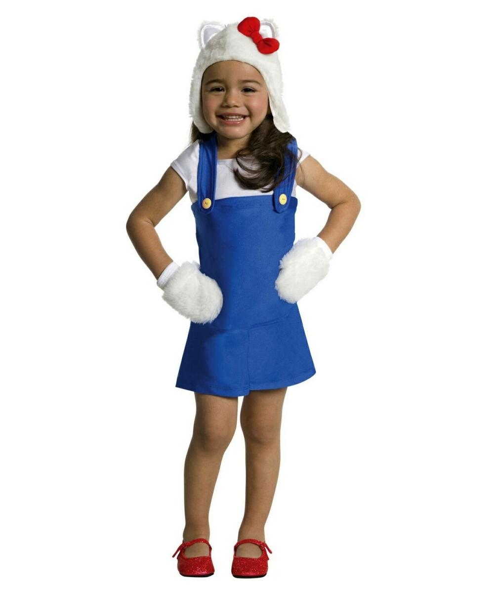 Baby costume hello kitty blue romper dress costume baby costume