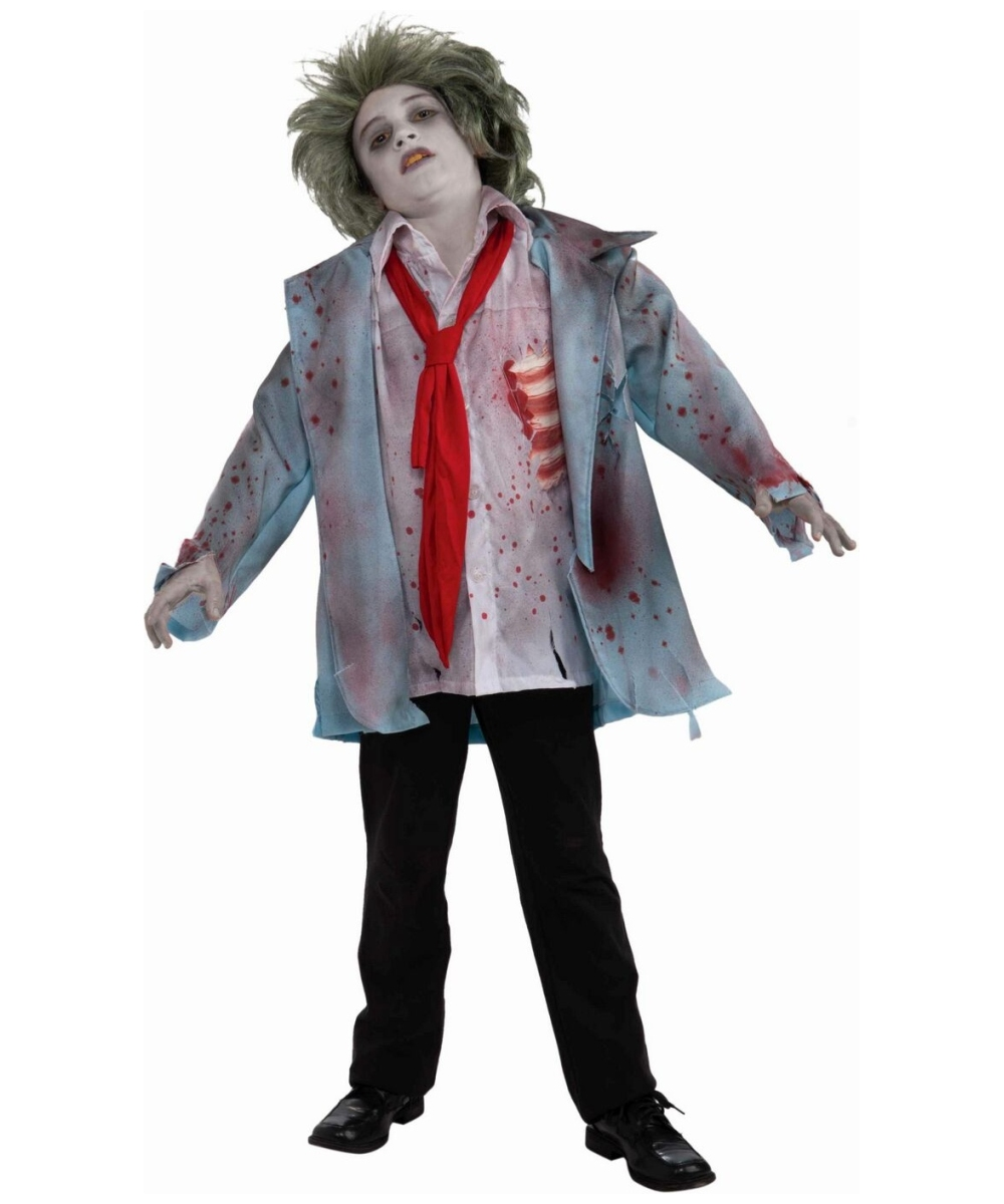 Images of Kids Zombie Cheerleader Halloween Costumes. Zombie ...