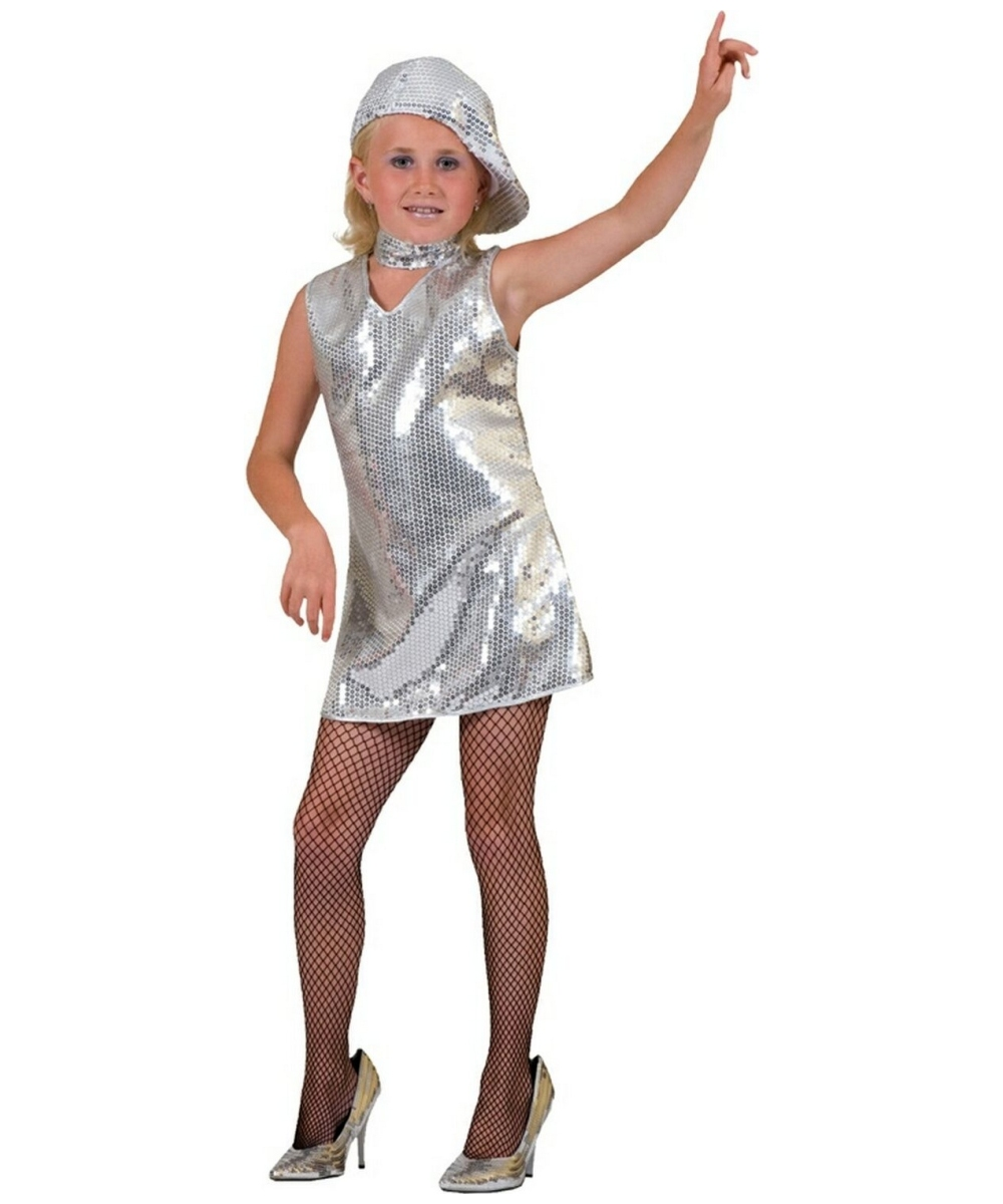 Disco Dress Costume - Girl Disco Costumes