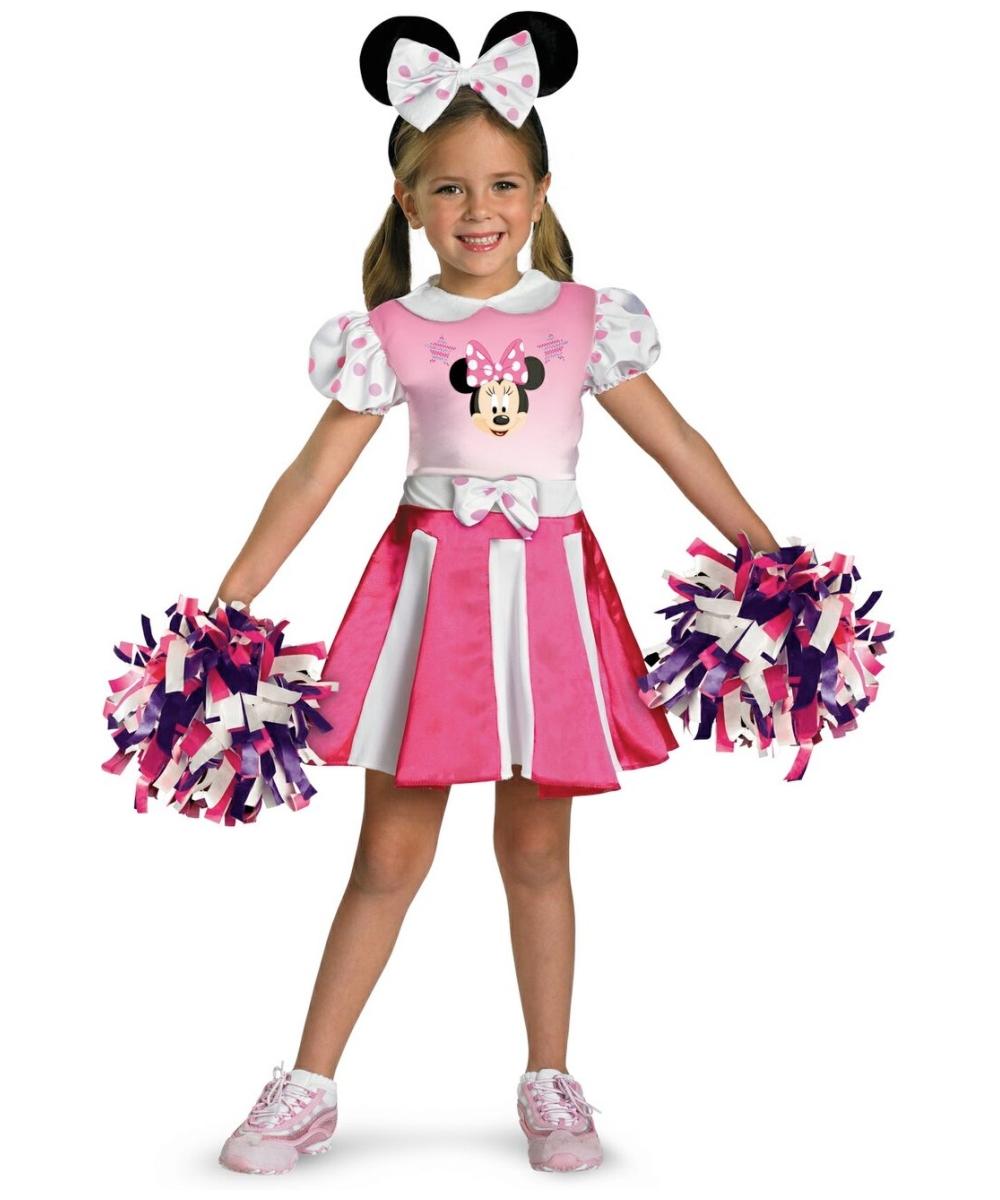 Girls Cheerleader Disney Costume - Disney Baby Costumes - Kids Disney Dress At WonderCostumes.com