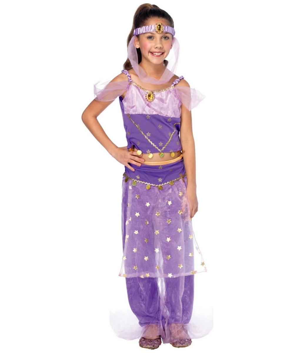 Genie Magic Kids Costume - Girl Genie Costumes Genie Girl Costume