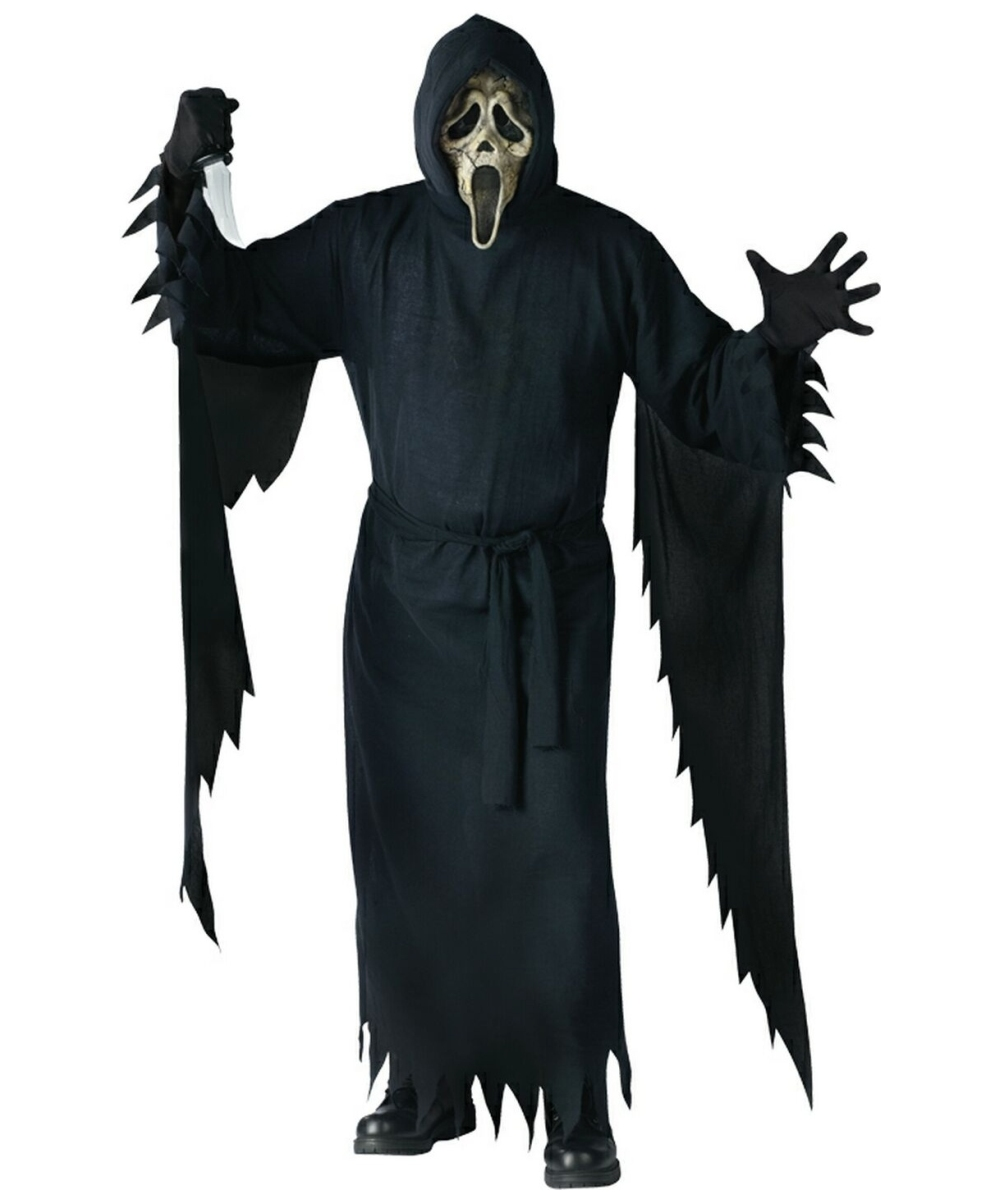 Ghost Face Zombie Collector Adult Halloween Costumes