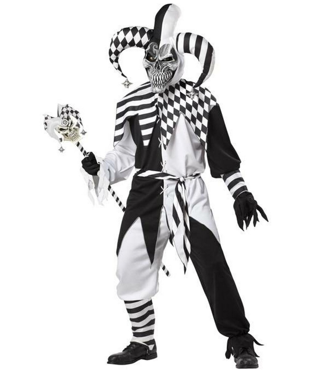 adult nobodys fool joker costume men costumes. Black Bedroom Furniture Sets. Home Design Ideas