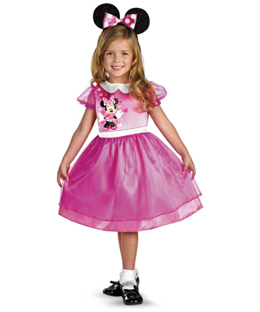 minnie mouse disney baby halloween costume pink girls disney costumes - Halloween Costume Pink Dress