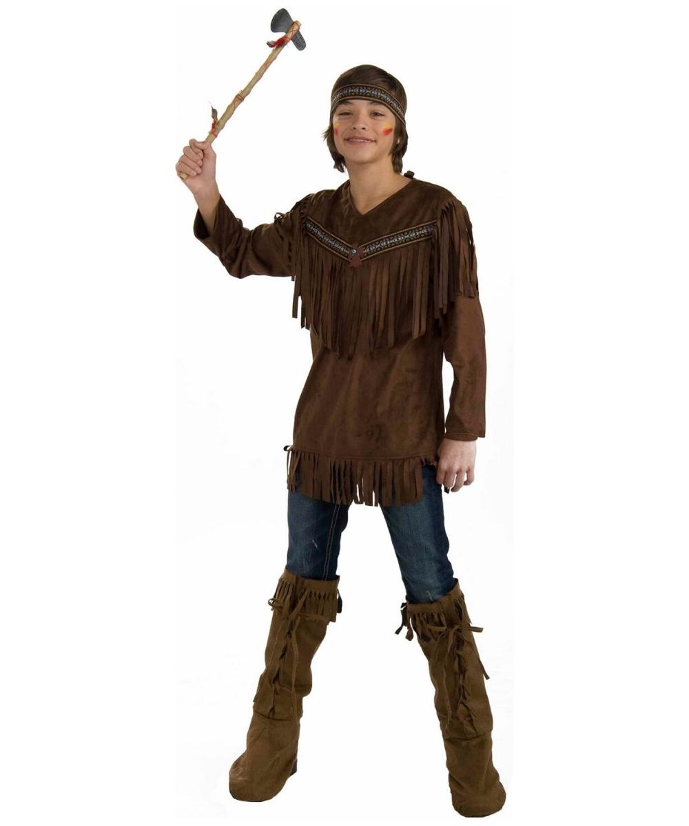 native american brave teen halloween costume - Halloween Native American