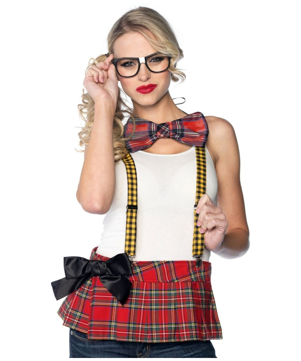 Nerd Costume Kit Adult Accessory Kits Wonder Costumes
