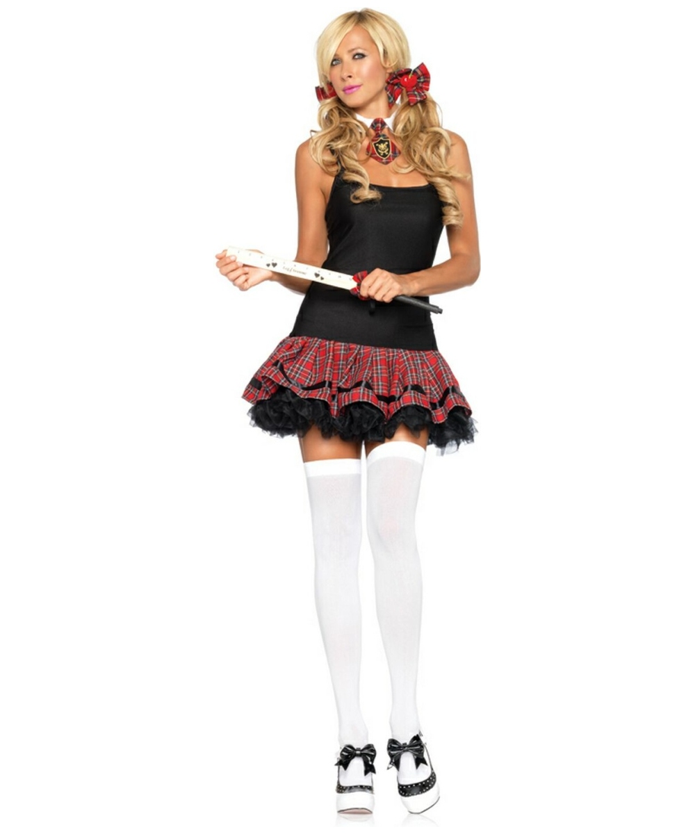plaid petticoat dress costume adult costume halloween costume at wonder costumes - Halloween Petticoat