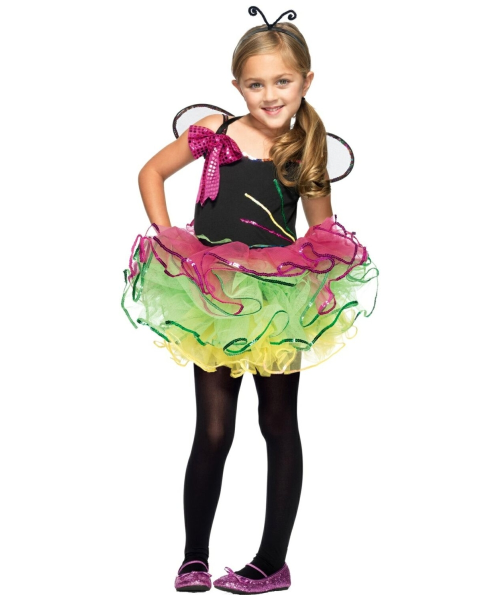Rainbow Unicorn Kids Halloween Costume - Girls Costumes